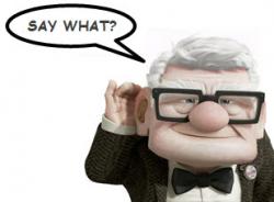 Say What cartoon image hearing loss claims